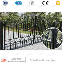 High grade new design sliding iron main gate design