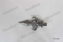 ornamental metal fence spearheads,fence part, aluminum fence spear