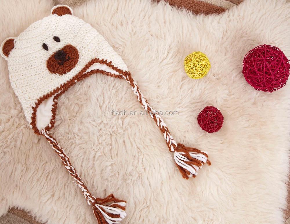 Crochet Patterns For Childrens Animal Hats : Crochet Animal Hats For Children/animal Hat Knitting ...