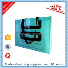 factory supplier hot sell pictures printing opp laminated pp woven shopping bag