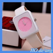 HOGIFT Colorful cute candy colored jelly watch/students watch/children watch