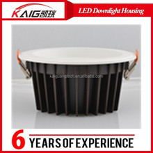 shenzhen lighting high power SMD 5630 40W led downlight housing, led down light casings, down light led