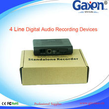 4 Line Digital Audio Recording Devices,Phone Call Recording Device,Small Voice Recording Device SD Card