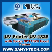 Large Format UV Flatbed Printer, UV-1325 with Seiko SPT1020 Heads