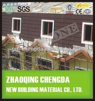 Asphalt Roofing Felt Roof Tile / Stone Coating Metal Roof