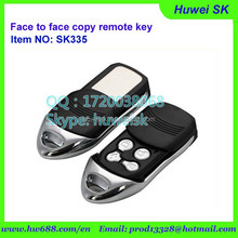 SK335 Push cover universal garage door remote FACE TO FACE COPY ,gate door,auto car remote key with 315Mhz, 433.92MHz