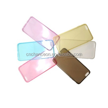 Super soft TPU mobile phone transparent cell phone case blank for iphone 5 5s 6 6plus CO-TPU-4002