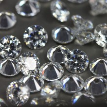 best quality wax setting and casting star cut white round cz bead for jewelry