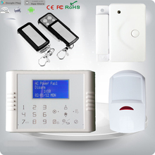 Central alarm monitoring system sms gsm home alarm security