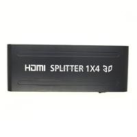 NEW Generic DK104 PET0104P HDMI Splitter 1x4 Ports 4 Port 1080P v1.3 HDTV 3D HD
