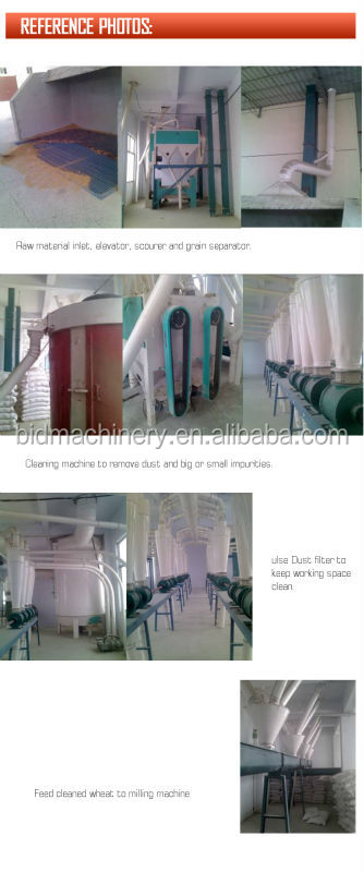 10 ton per day wheat flour grinder machinery with price