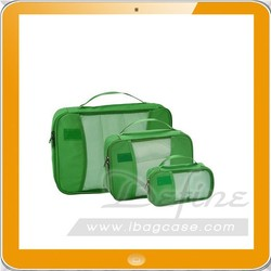 quality travel packing tote bag for 3 pieces one set