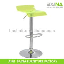 Alibaba hot sale acrylic bar chair swivel
