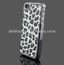 Luxury Chrome Leopard Hard Back Case Cover Skin for Apple iPhone 4S 4 4G Verizon