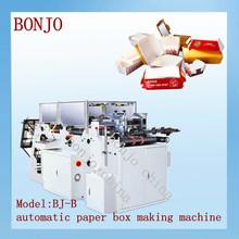 China machine de fabrication emballage carton