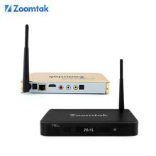 Zoomtak T8 plus S812 porn video android quad core 4K smart tv converter box XBMC koid ott tv box