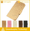 new arrival diamond stone pu leather universal phone bag flip stand cover case for 4s 5s n7100 g520