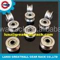 Steel Line Track roller Rolling Gate lock for sliding gate sliding shower door roller Bearings