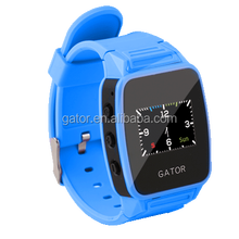 Fashion waterproof Kids Wrist Watch Safety SOS GPS Tracker GPS Tracking GSM kids tracking watch with free mobile app-caref watch