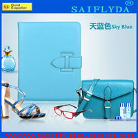 Hot selling book leather case for ipad 2 3 4 stand leather smart cover for sale