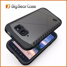 Hybrid mobile phone cover case for samsung galaxy s6 active