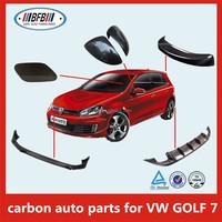 Auto rear spoiler for VW Golf 7 VII Roof Edge Spoiler Primed Dachkantenspoiler Spoiler