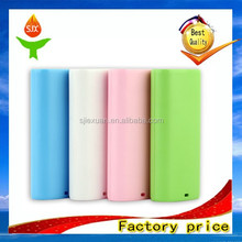 OEM and ODM 2015 best quality rohs power bank 5200mah for smartphone JX-P001