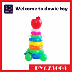 Most Popular Plastic Ferrule Cross Small Ring Toss Rings Baby Diverting Ferrule Toy