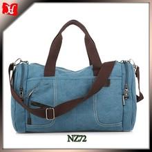 Men's weekend canvas bag leaves king trolley travel bag golf bag travel cover
