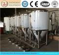 Types de traitement de l'alcool glycol, veste fermenteur conique/industrielle de fermentation