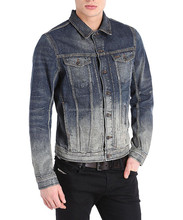 men's 4-pockets denim jacket