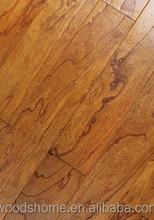 Les plus populaires planchers de bois de pin, Blanc chêne planchers de bois franc