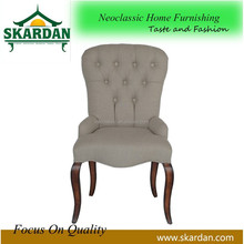 2015 hot sale classic style wood barber dining chair DC-1029