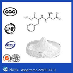 Gold Manufacturer Supplier Bulk Aspartame Sweetener 22839-47