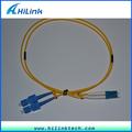 Conector fc pc fibra óptica Jumper de fibra óptica