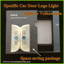 led car door sill plate light,no drill led car door projector logo light