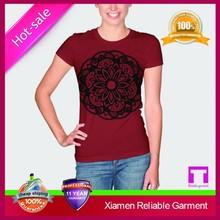 2015 Fashionable custom design women t shirt 2015 OEM china factory