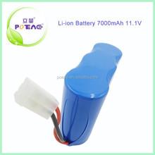 Rechargeable Battery 32650 11.1V Li-ion Battery Pack 7000mAh