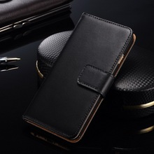 "Custom leather case for Iphone 6 4.7 inch, wholesale cell phone case for Iphone 6+ 5.5"" , business card slot mobile phone case"
