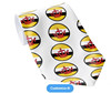 Hot sale woven jaquard polyester woven printing Brunei flag tie