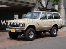 Before 1990 TOYOTA Land Cruiser /SUV/LHD/256000km/Gas/Petrol/Yellow Used car
