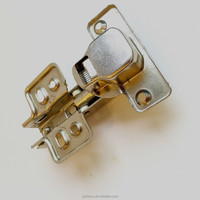 iron type of hinges : 90 degree cabinet door hinges fixed plate