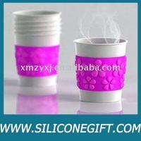 silicon kitchenware /silicone rubber cup holder