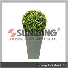 pianta artificiale spirale di legno di bosso arte topiaria bosso palla hedge