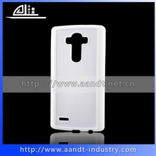 Top Sale! DIY Combo TPU Plastic Sublimation Phone Cover For LG g4 h818