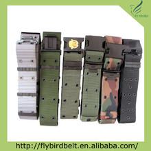 Ali express Embossed LOGO camo police belt, solider belt, military belt by custom