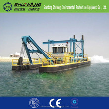 Africa and South-East Asin widely accepted sand cutter suction dredger ship for sale