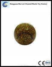 Colorful mini crystal bouncy ball, crystal bouncing pu stress ball