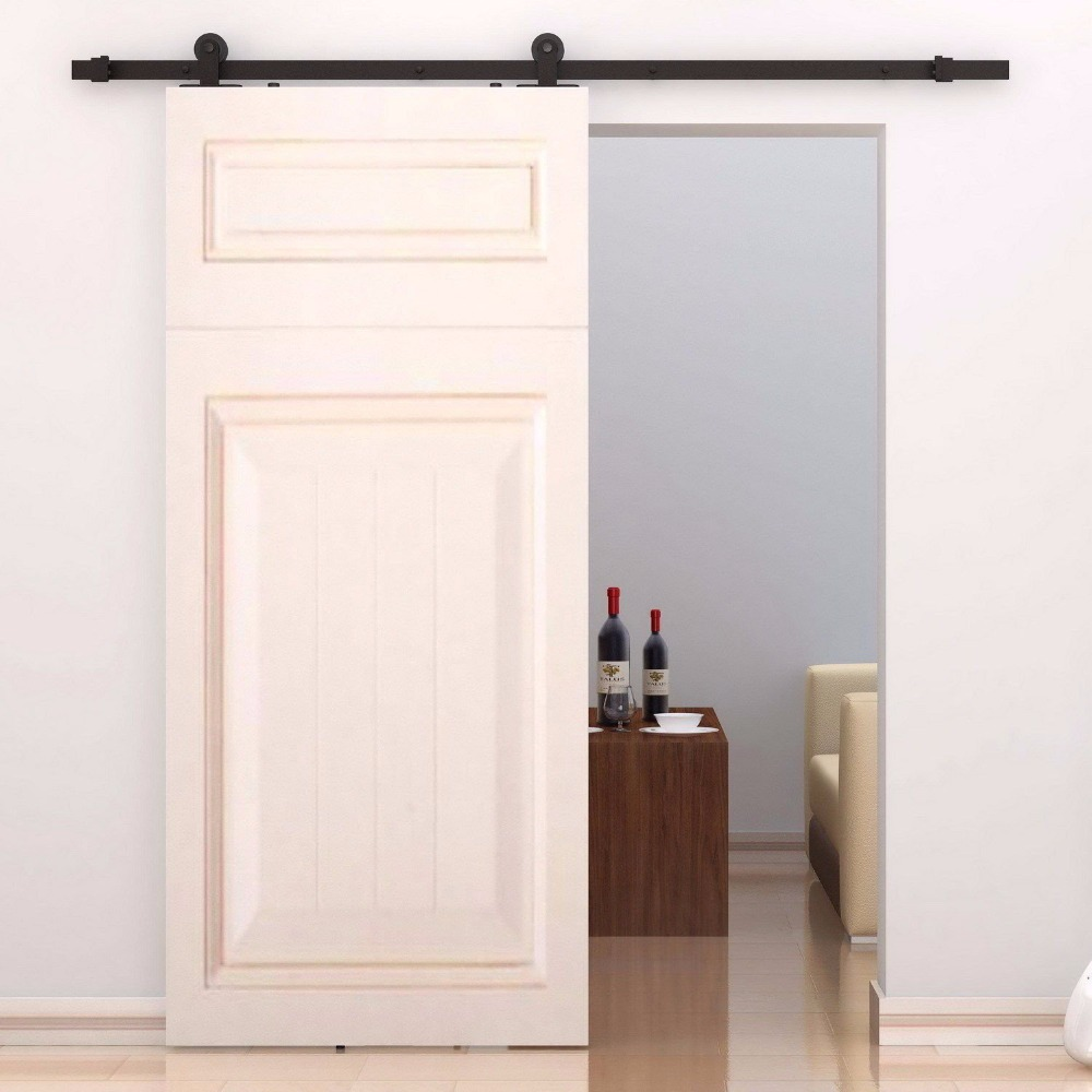 Steel Sliding Wood Door Hardwar Barn Door Hardware Sliding Barn Door