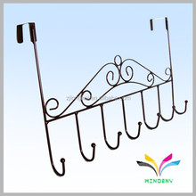 New modern 6 hooks china suppliers metal wall mounted coat rack coat hook